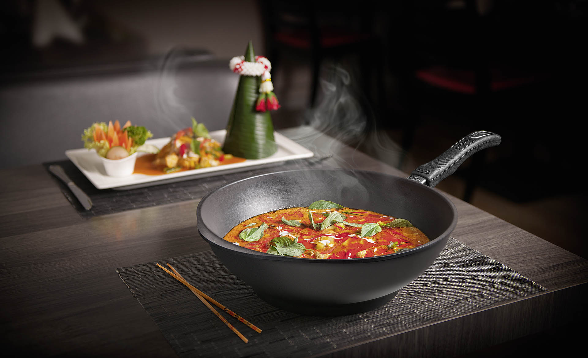 Photographie du WOK Gastrolux au Red Pepper de Saint-Blaise